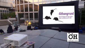 Open Air Kino @ Haupteingang Alte WU / AkBild Augasse