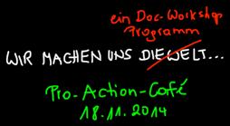 Pro-Action-Café @ großer Besprechungsraum: DG 18 | Wien | Wien | Österreich