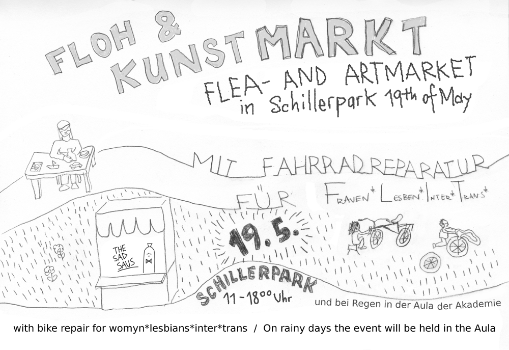 FLEA & ARTMARKET IN SCHILLERPARK! @ Schillerplatz | Wien | Wien | Österreich